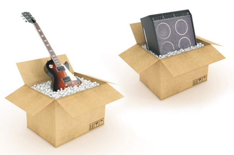 spedizione strumenti musicali