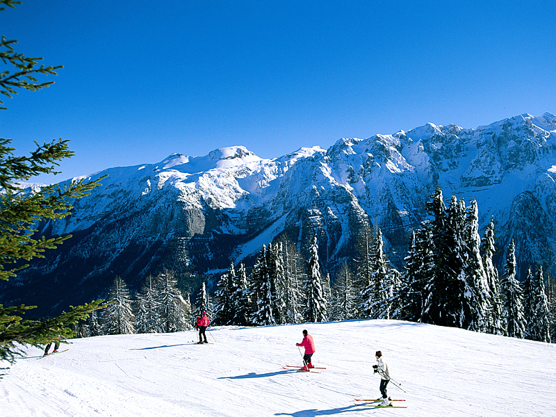 migliori piste da sci del trentino alto adige