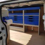 Allestimento furgone per idraulico