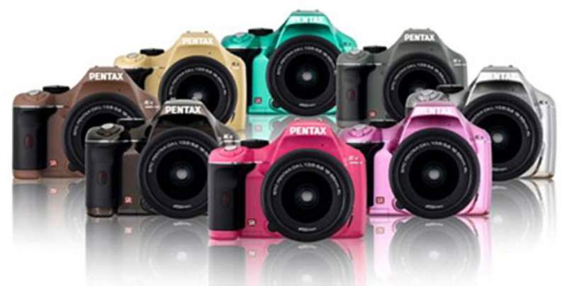 pentax k x nuovi colori